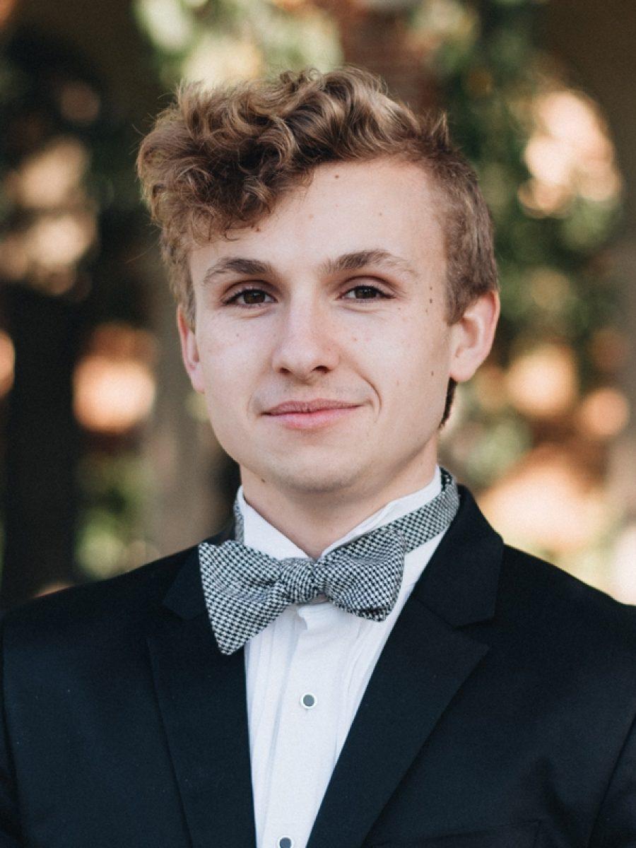 Portrait of Curtis Baum