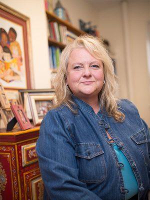 Portrait of Wendy Richards