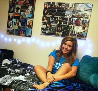 Ashely in her form room in Moyer Hall