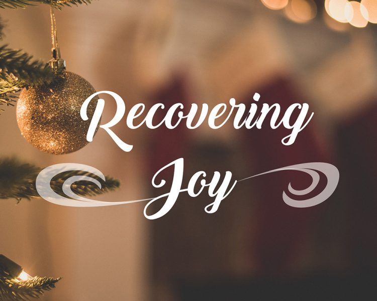 graphic for Recovering Joy