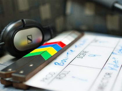 Film production clapper