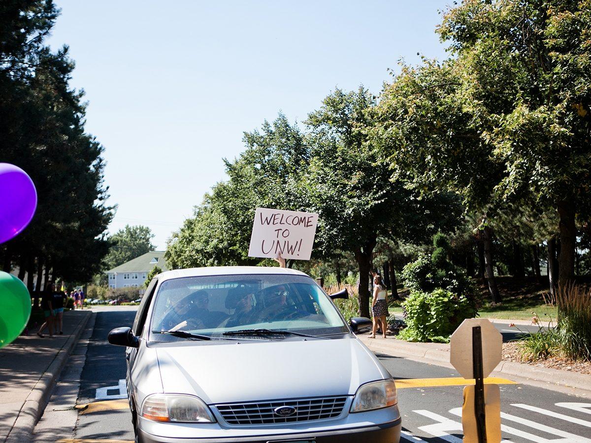 Entrance to University of Northwestern
