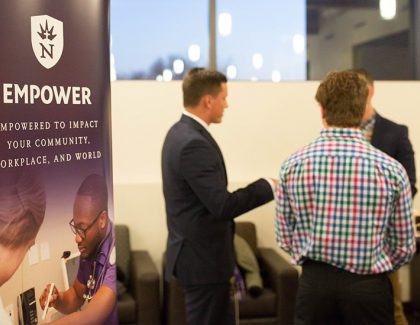 Career Development fair as Northwestern