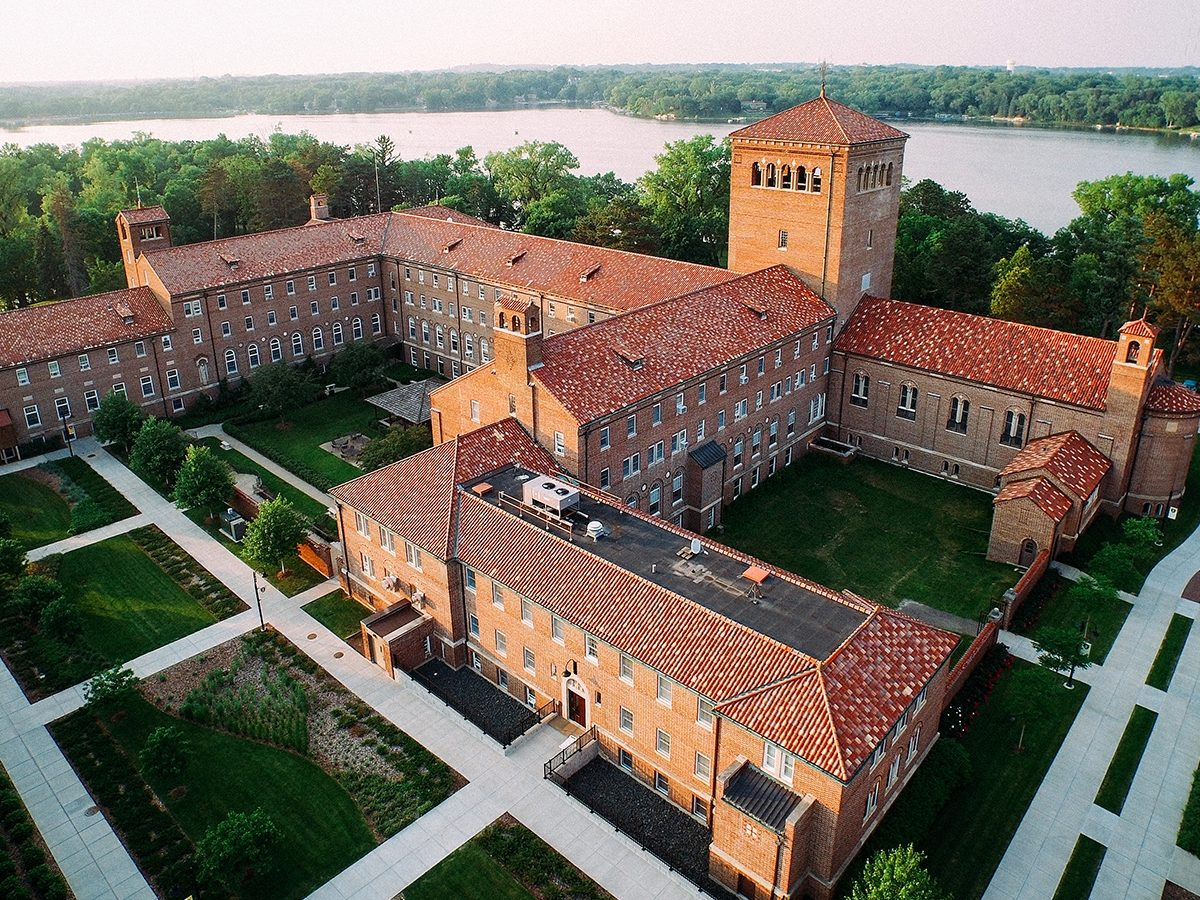 Overhead view of Nazareth Hall
