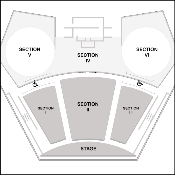 Seating Chart for Knight Performance Hall