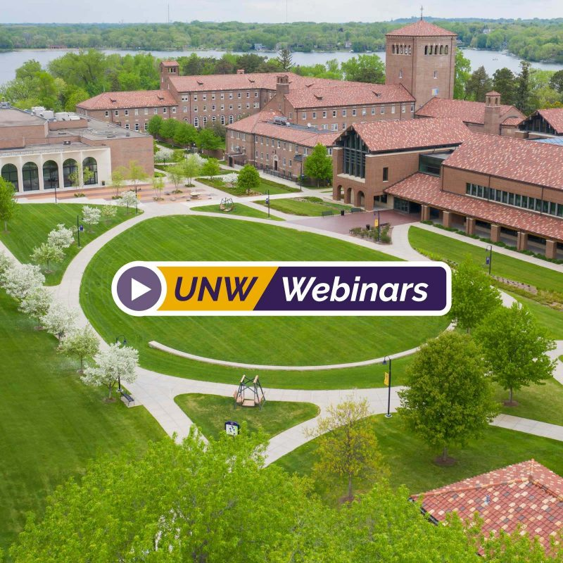 graphic for UNW Webinars Event