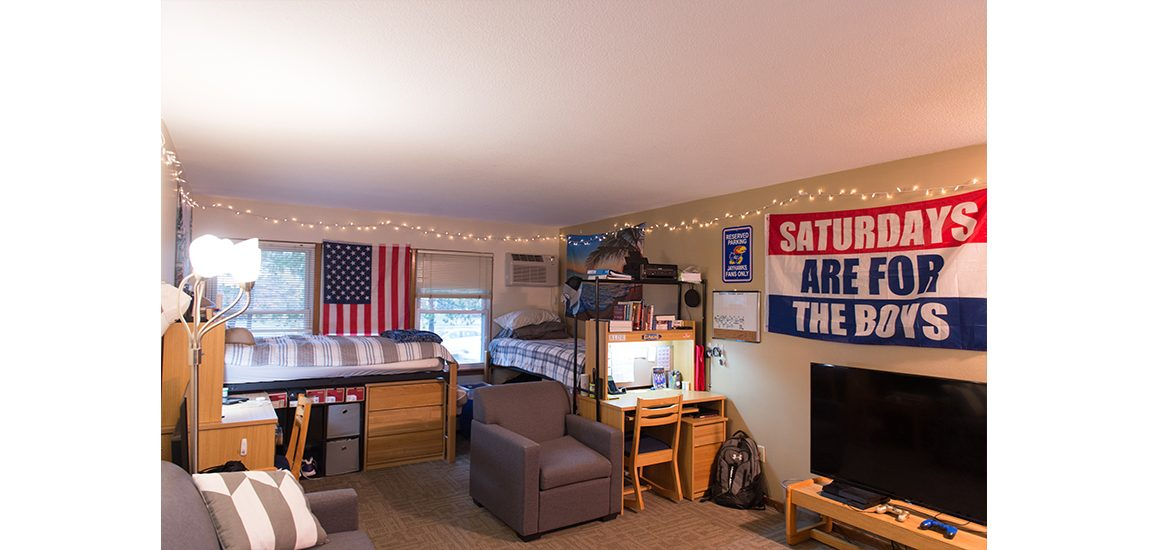 Pittman Hall room