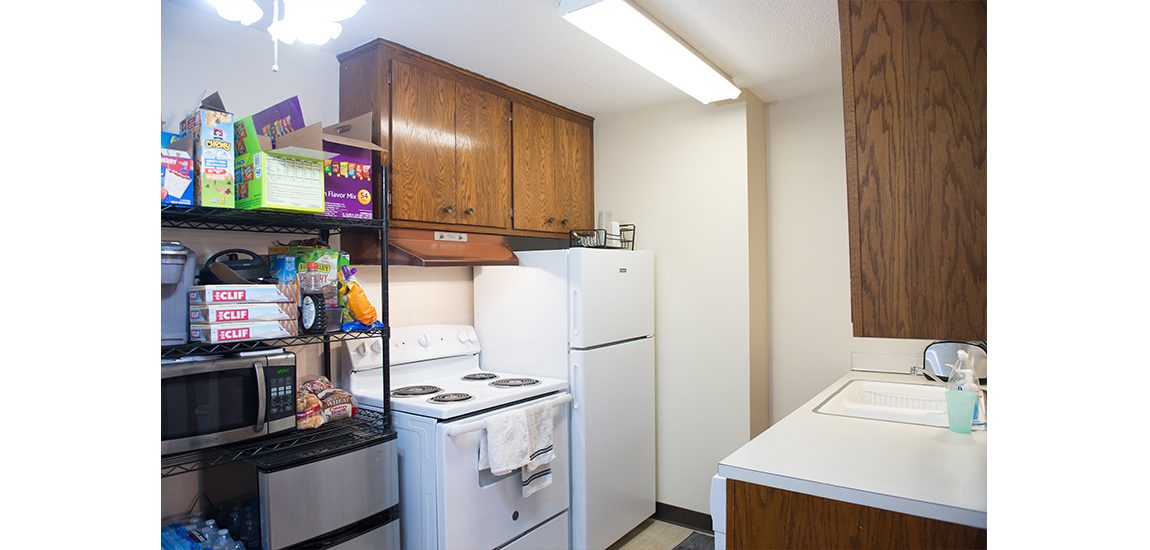 Pittman Hall kitchen