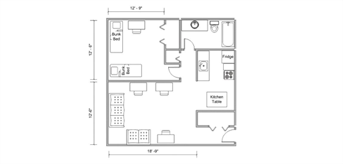 Pittman South Floorplan