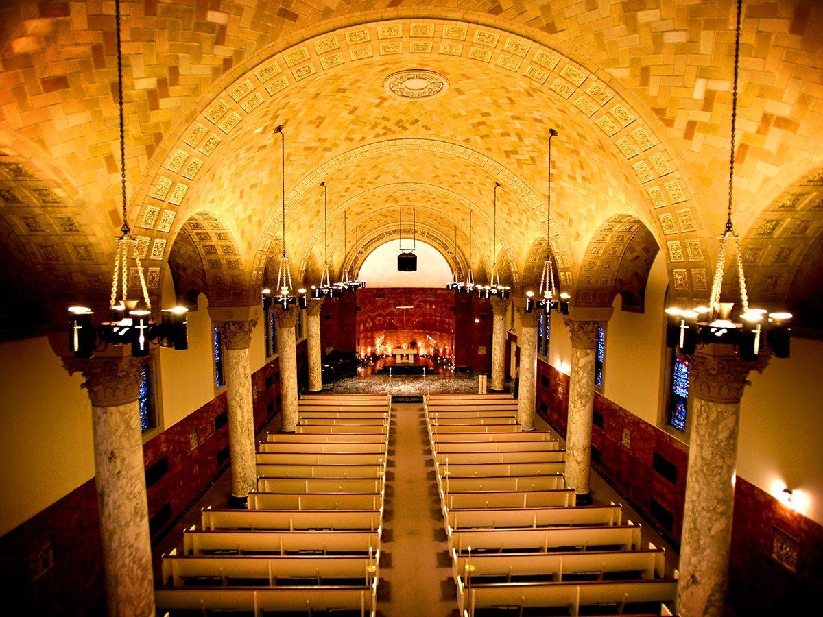 Inside of Nazareth Chapel