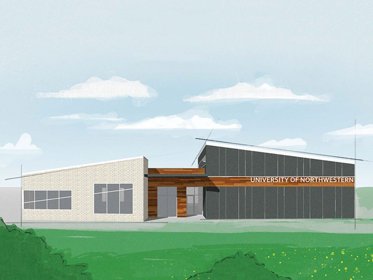 New Northwestern Sioux Falls building concept