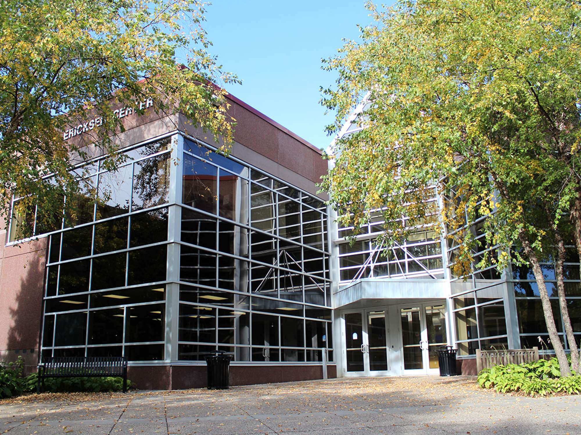 Front entrance to the Ericksen Center