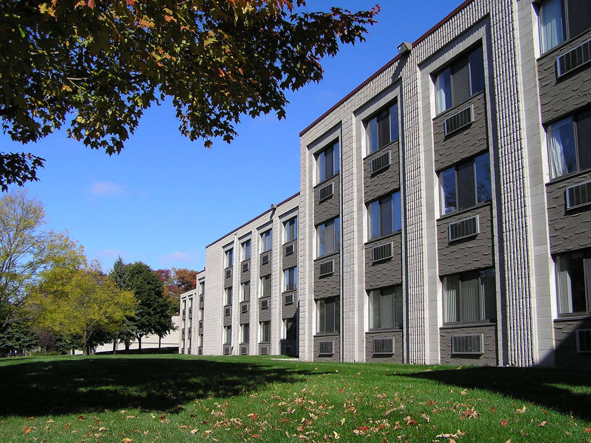 Exterior view of Hartill Hall