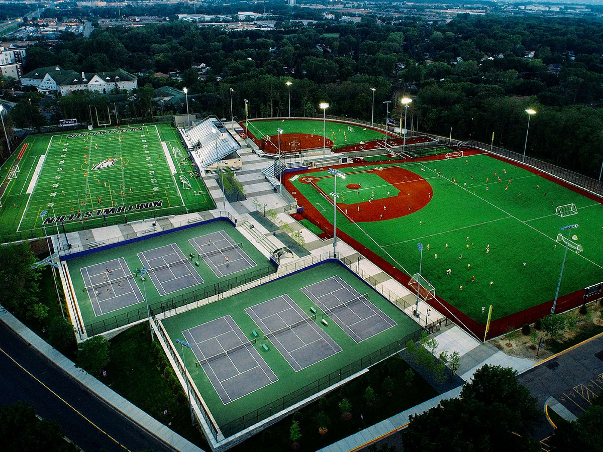 Bird's eye view of the Reynolds Field Complex