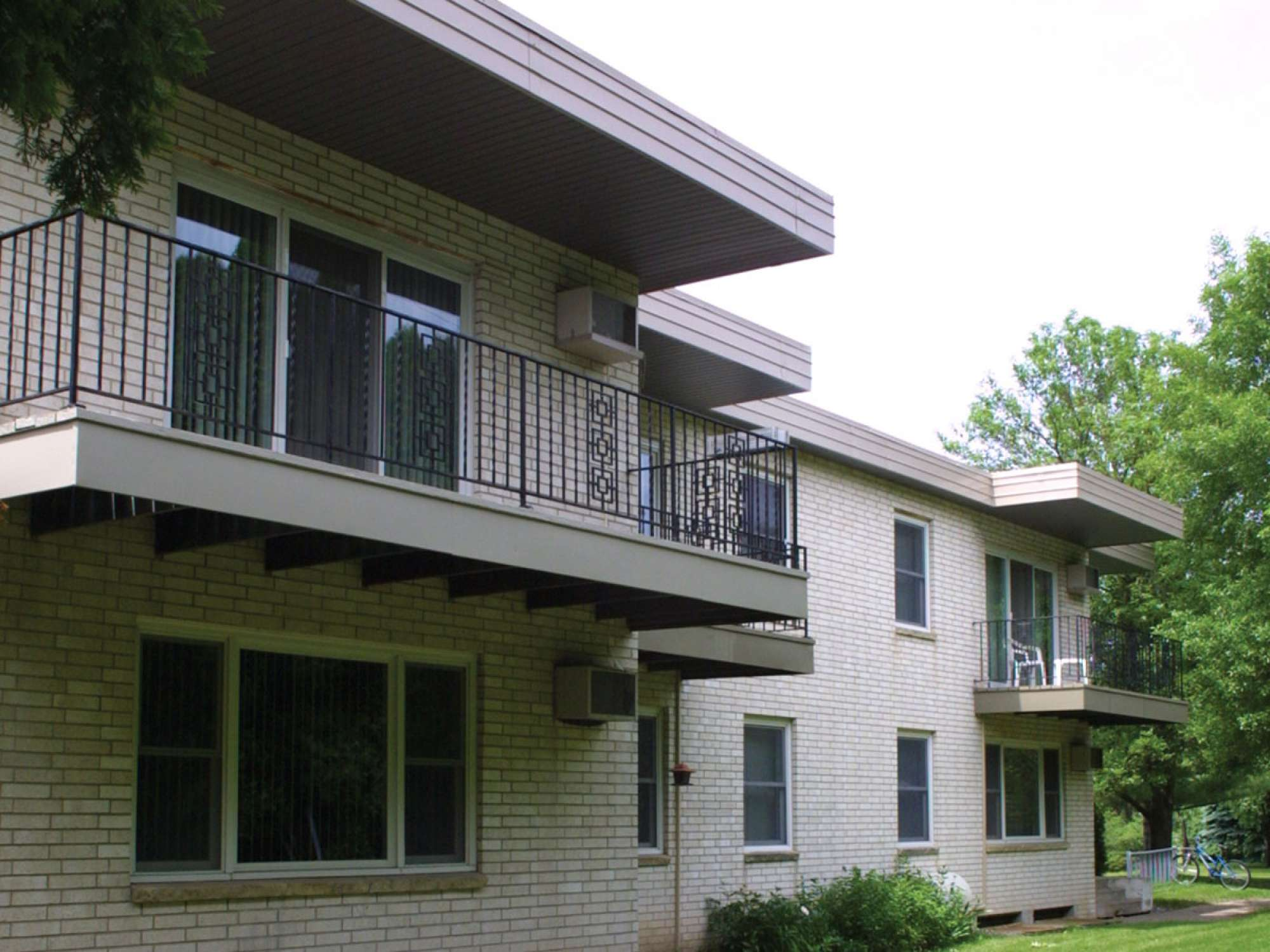 Balcony picture of the Southeast Residence Halls