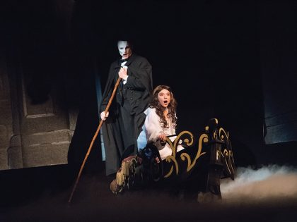 Phantom of the Opera performance at Northwestern