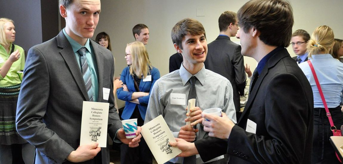 Eagle Honors Scholars at Symposium