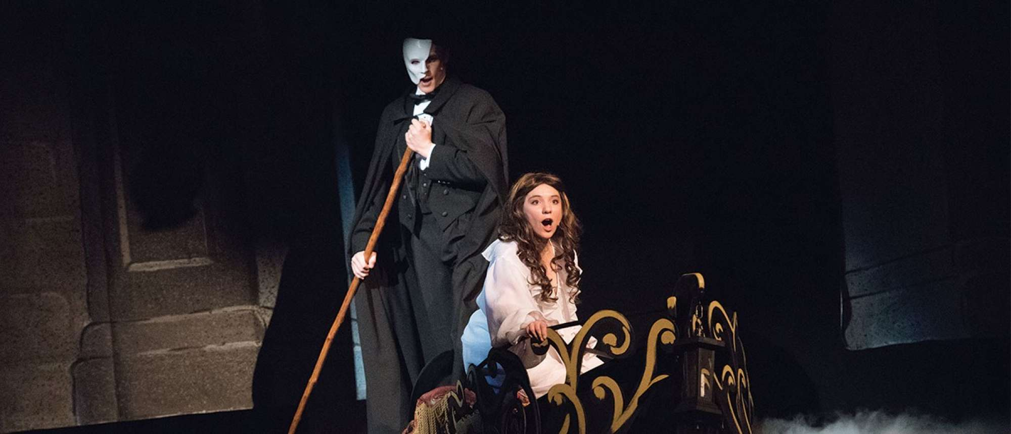 Phantom of the Opera performance.