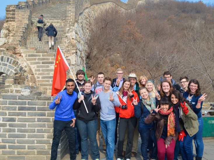 students studying abroad
