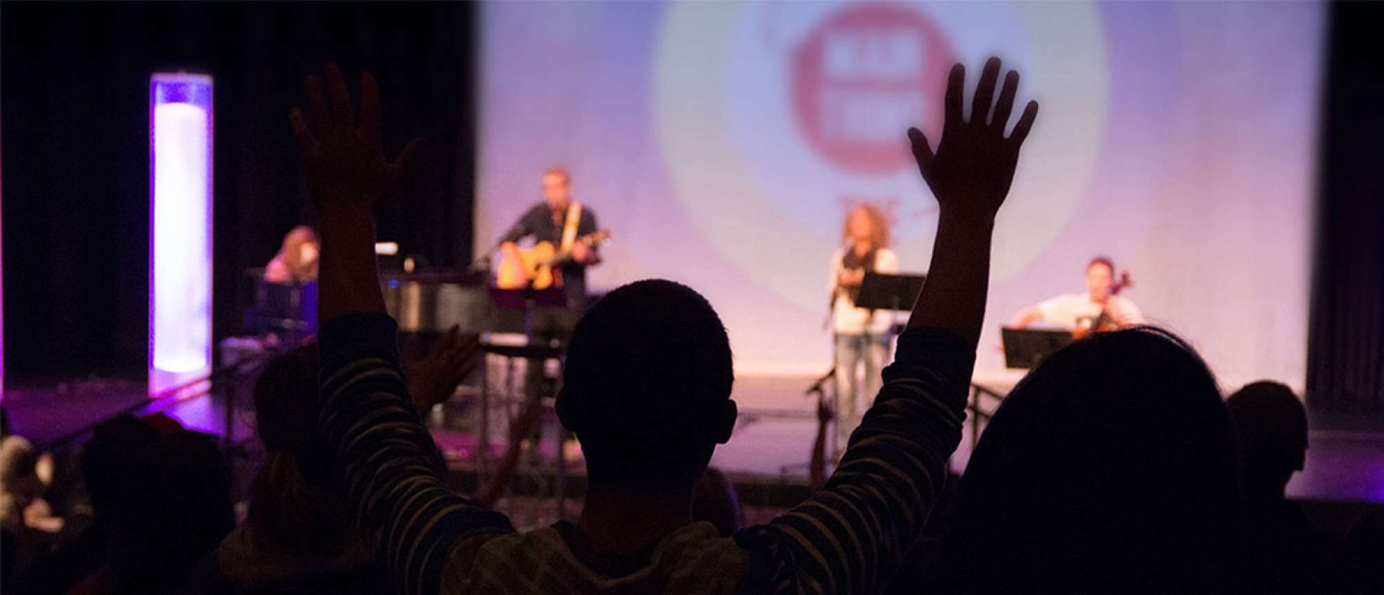 Person worshipping
