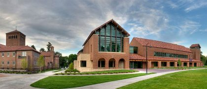 Billy Graham Community Life Center building from the outside