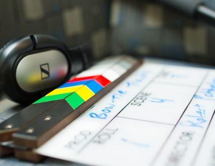 Videography tools upclose shot