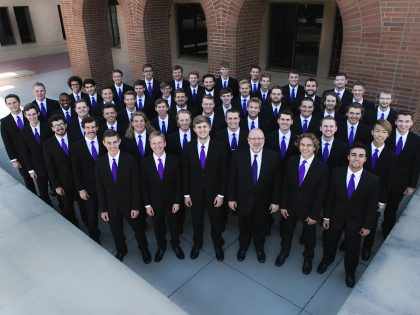 Photo of the Varsity Men's Chorus