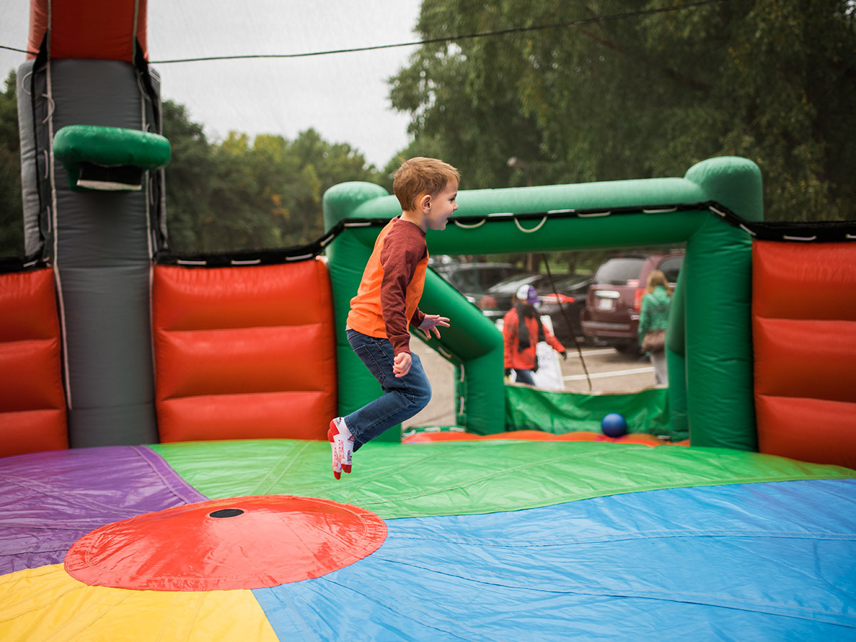 Image of a bouncy house